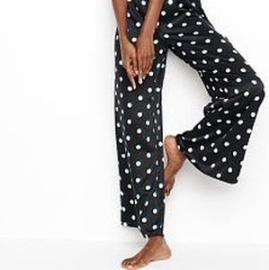 Victoria's Secret | satin polka dot pajama pants